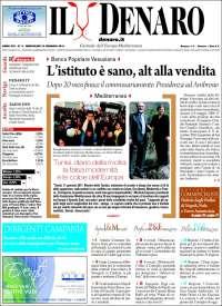 Portada de Il Denaro (Italia)