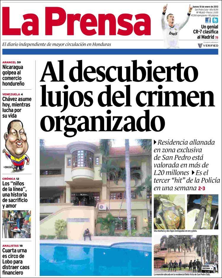 Newspaper La Prensa (Honduras)  Newspapers in Honduras