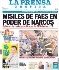 Portada de La Prensa Gráfica (El Salvador)