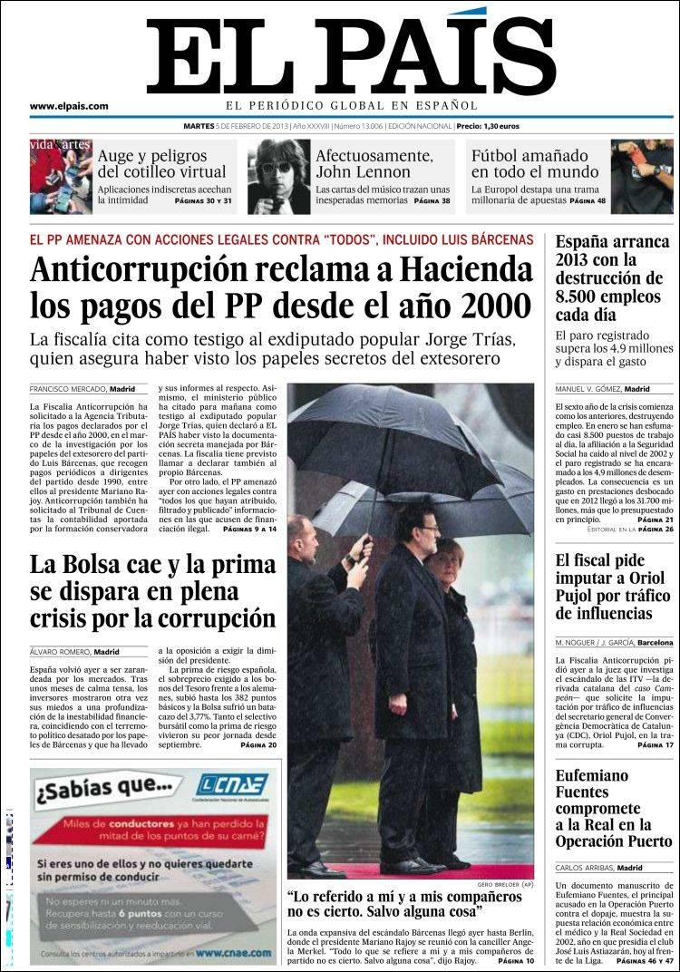 1000+ images about Portadas Periodicos Diarios.