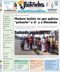 Portada de Diario Antorcha (Venezuela)