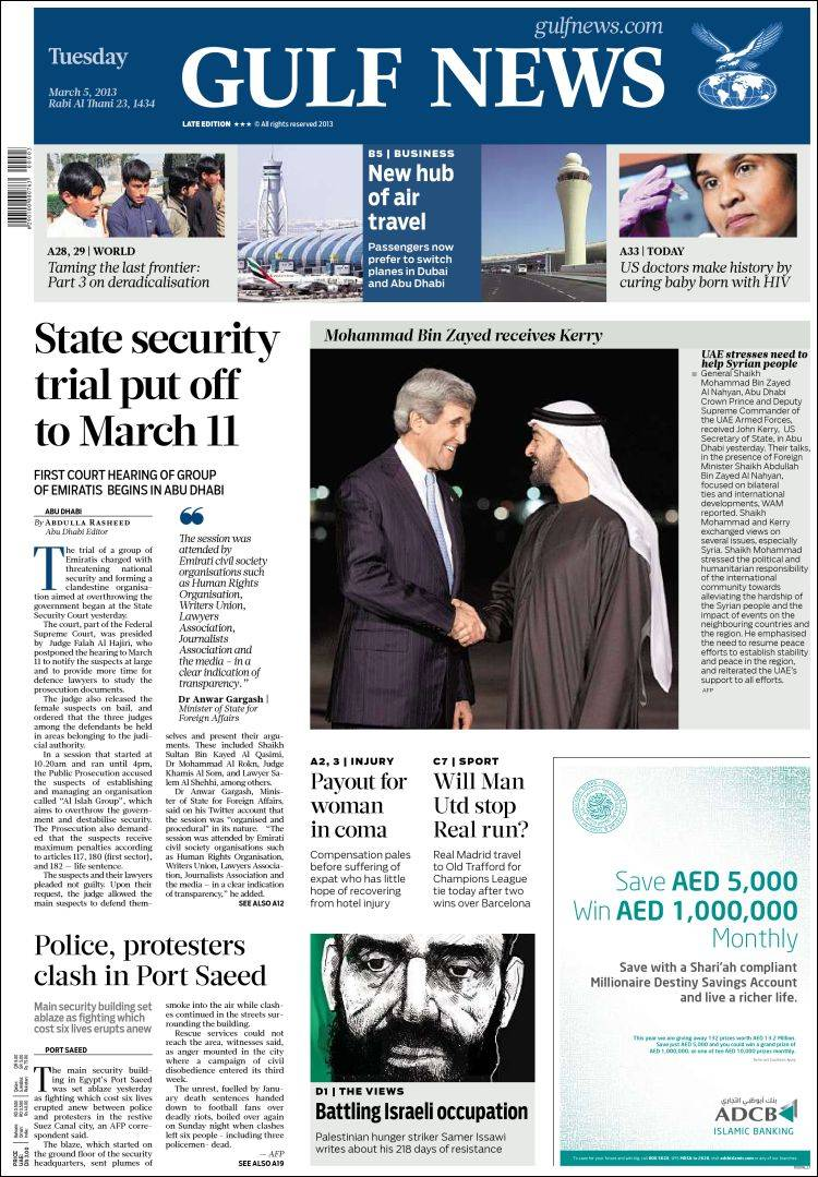 newspaper gulf news asiapacific newspapers in asia