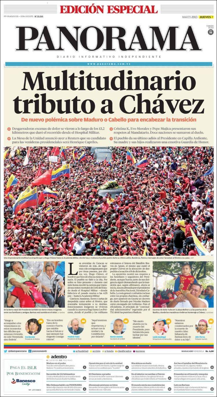 Portada de Panorama (Venezuela)