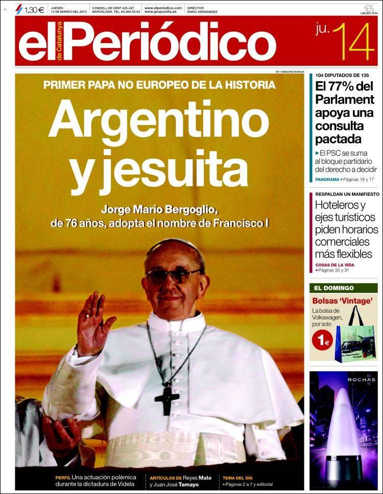 Peri dico el peri dico espa a peri dicos de espa a edici n de jueves 14 de marzo de 2013 - Puerta de madrid periodico ...