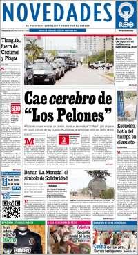 Novedades de Quintana Roo