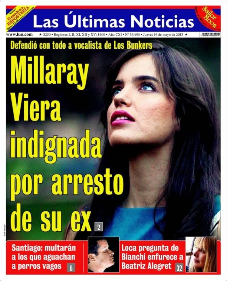 Peri dico las ltimas noticias chile peri dicos de for Ultimas noticias dela farandula