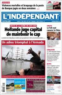 Portada de Le Indépendant (France)
