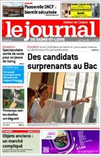 Portada de Journal de Saône-et-Loire (France)