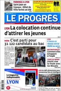 Portada de Le Progrès (France)