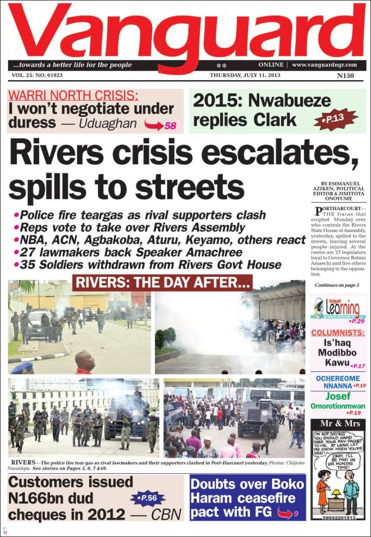 Vanguard News - Latest Updates From Nigeria Including ...