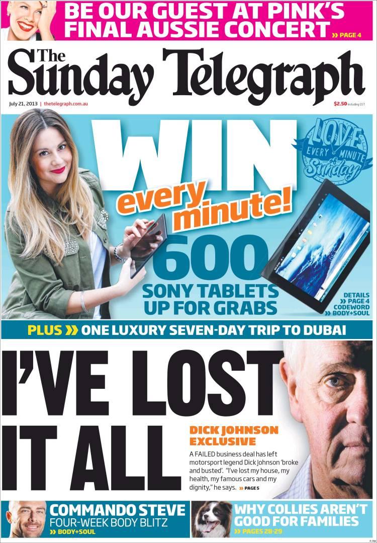 3ce265cb335 Newspaper The Daily Telegraph (Australia). Newspapers in Australia ...