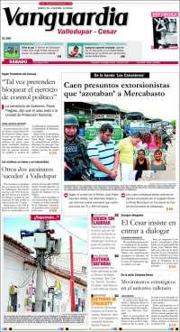 Portada de Vanguardia - Valledupar - Cesar (Colombia)