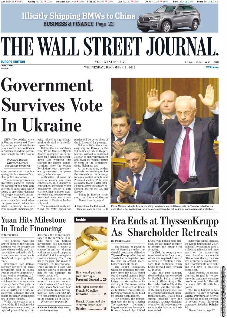 Wall Street Journal Online. The Wall Street&nbspTerm Paper