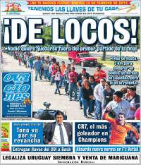 Portada de Ovaciones (México)